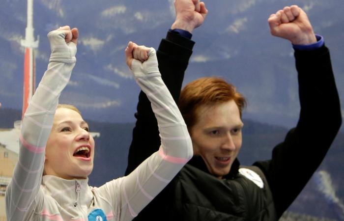 Тарасова иМорозов победили начемпионате Европы вЧехии