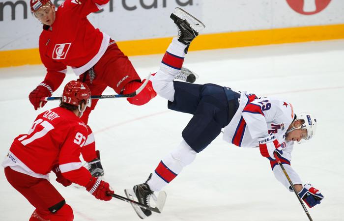 «Спартак» проиграл 10-й раз подряд илишился плей-офф КХЛ