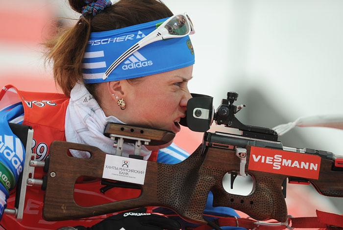 Россиянки завоевали две медали начемпионате Европы побиатлону