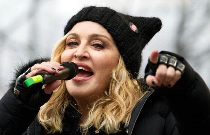 Трамп озаявлениях Мадонны: «Позор для нашей страны»