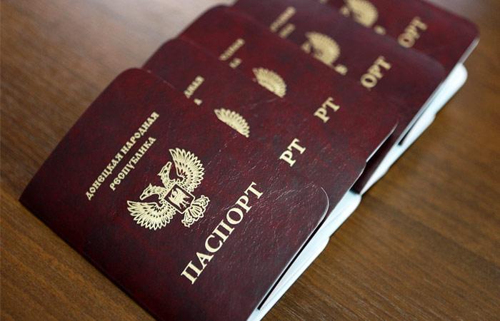 Песков опроверг признание Россией паспортов ДНР и ЛНР