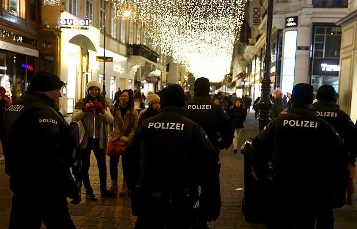 В Вене задержаны 22 выходца из Чечни
