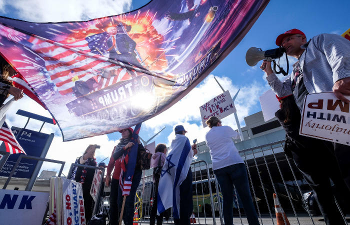 Министерство юстиции США подало апелляцию на отмену иммиграционного указа Трампа