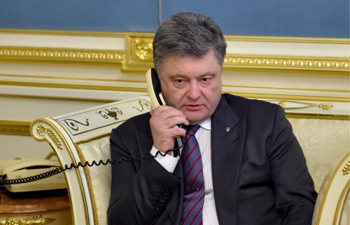 Порошенко и Трамп обсудили ситуацию в Донбассе