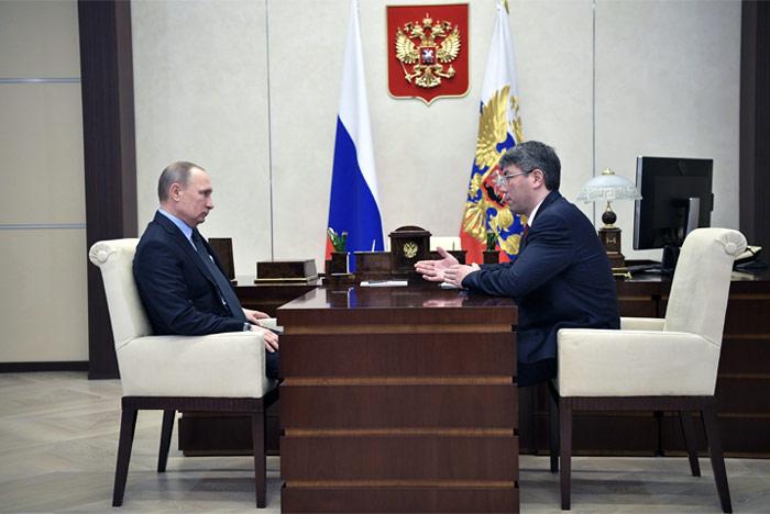 Владимир Путин назначил Алексея Цыденова врио руководителя Республики Бурятия