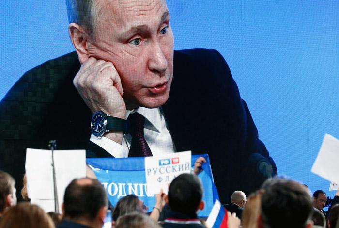 Более 60% россиян захотели узнать мнение президента по всем вопросам жизни страны