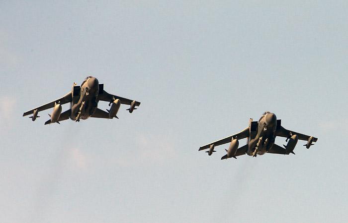 Британские истребители поднялись на перехват бомбардировщиков РФ над Атлантикой