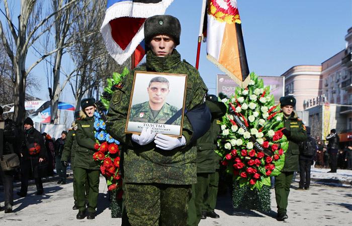 Гиви похоронили в Донбассе рядом с Моторолой