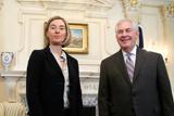 Могерини встретилась с новым госсекретарем США