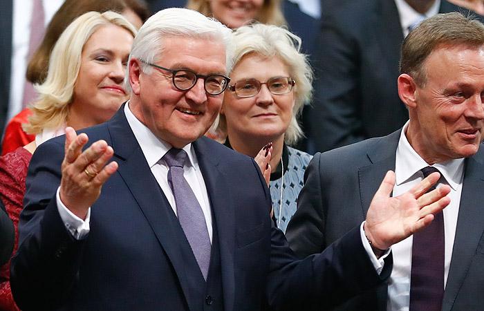 Франк-Вальтер Штайнмайер избран новым президентом Германии