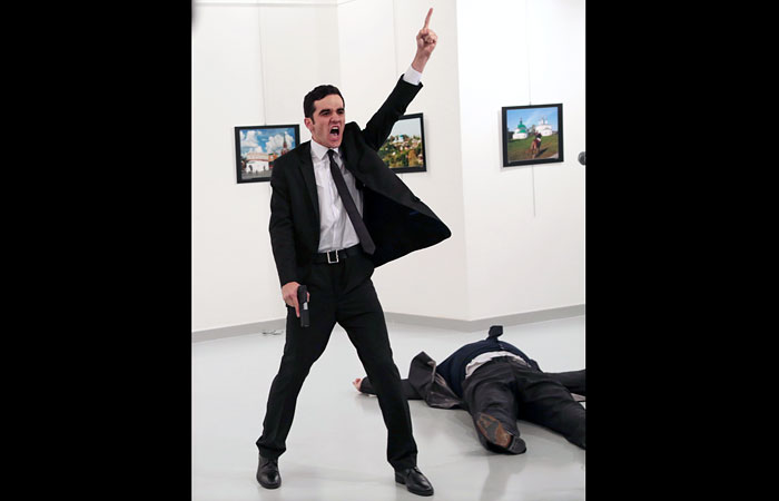Фотография убийцы русского посла вТурции получила главный приз World Press Photo
