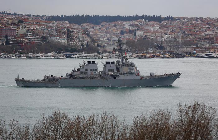 Минобороны РФ опровергло информацию об инцидентах с американским эсминцем