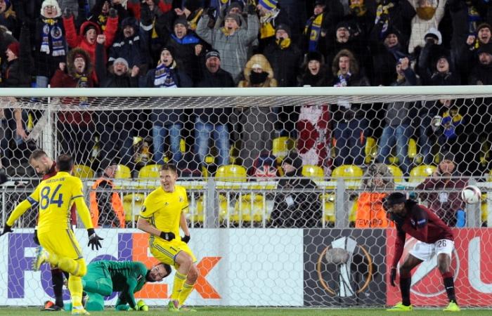 Первая вистории «Ростова» победа вплей-офф Лиги Европы
