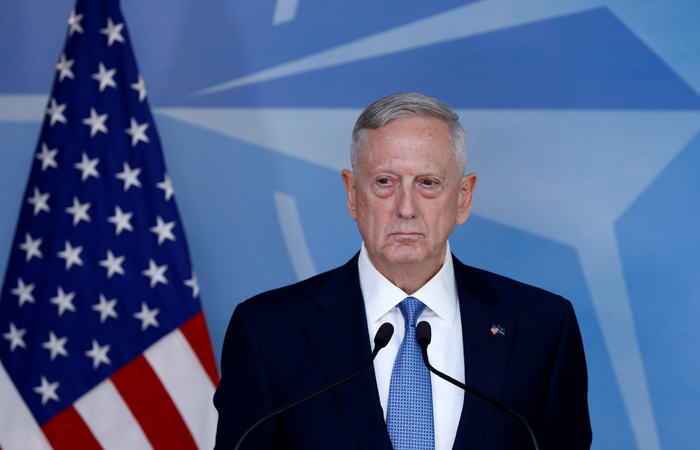 Глава Пентагона Мэттис заявил о намерении говорить с Москвой с позиции силы