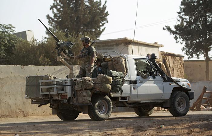 ВСирии могут расположить сухопутные войска США