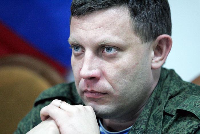 Захарченко заявил о готовности забрать подконтрольные Киеву районы Донбасса