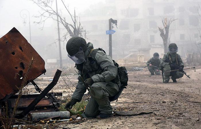 Шаг к миру: Российские саперы полностью разминировали Алеппо