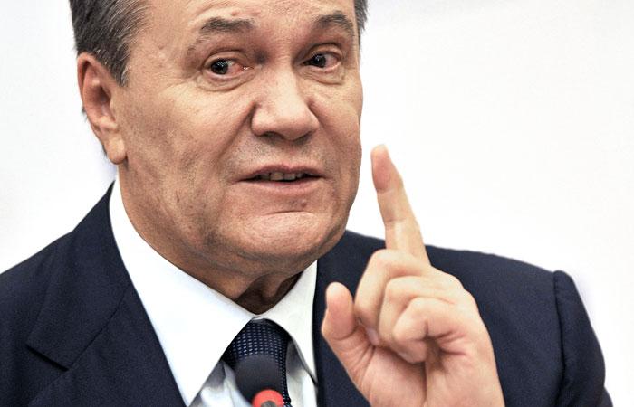 Янукович предложил провести референдум остатусе Донбасса