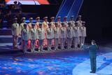 Ансамбль имени Александрова выступил на открытии Всемирных военных игр в Сочи