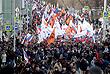 Участники марша памяти Немцова