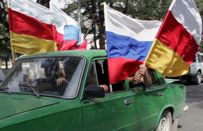 ВГрузии анонсировали отказ Российской Федерации от принятия Абхазии иЮжной Осетии