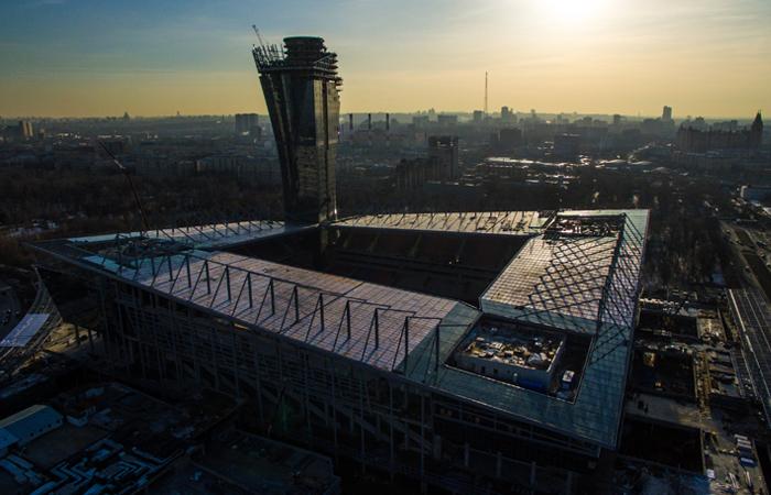 Стадион футбольного клуба ЦСКА получил название «ВЭБ-Арена»