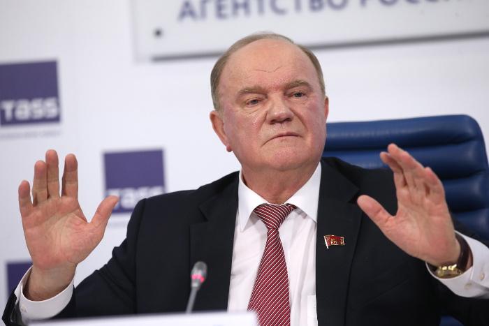 СМИ сообщили о нежелании Зюганова баллотироваться на пост президента РФ