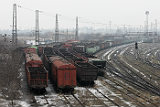 В Луганской области возобновил движение заблокированный в январе поезд