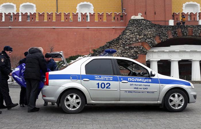 ВФСО опровергли проникновение феминисток наУгловую Арсенальную вышку Кремля