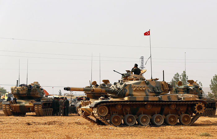 Оккупационные войска Турции нанесли удар посирийской армии уМанбиджа