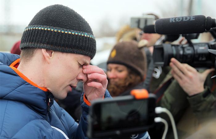 Жена Дадина объяснила его задержание у здания ФСИН в Москве