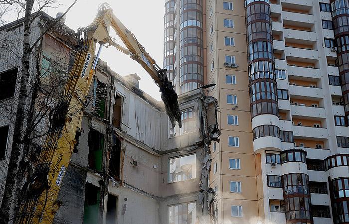 В Госдуму внесли законопроект об условиях переселения из сносимых пятиэтажек Москвы