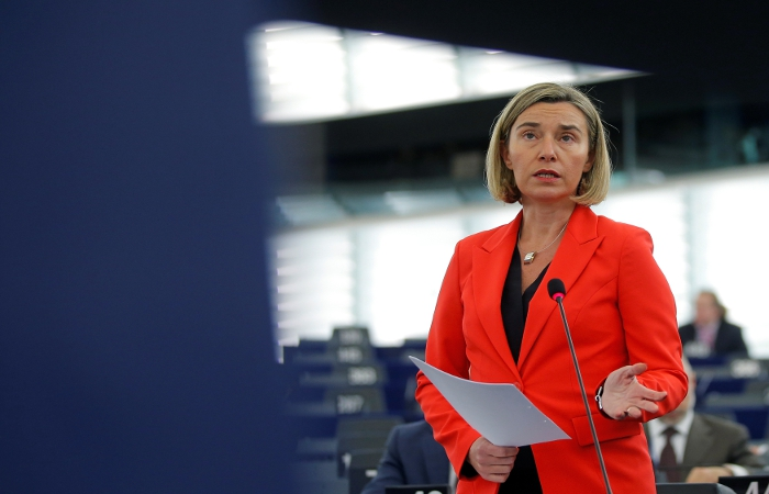 Могерини представила в Страсбурге стратегию Евросоюза для Сирии