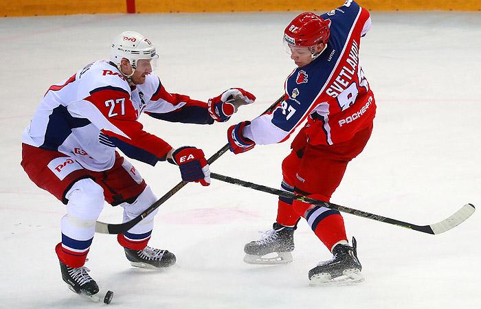 Хоккейный «Локомотив» одержал победу  серию уЦСКА вплей-офф КХЛ