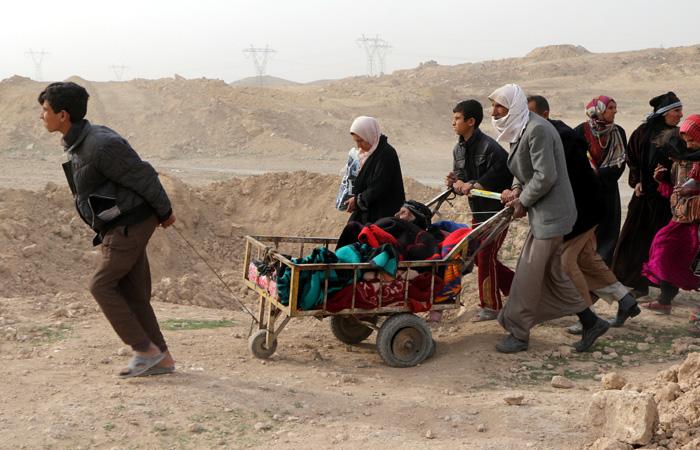 ООН спрогнозировала бегство более 300 тысяч человек из западного Мосула