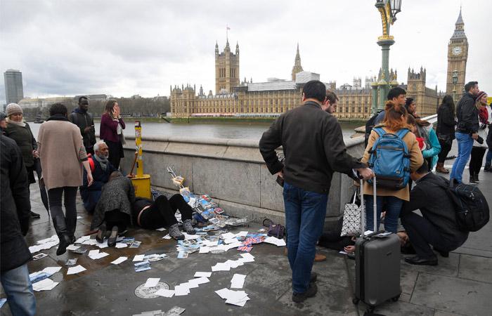Теракт у здания парламента в Лондоне: что известно на данный момент