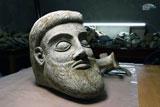 На стройке Керченского моста найдена голова античного божества