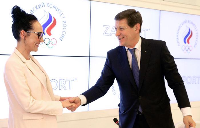 ОКР подписал договор сновым экипировщиком сборной Российской Федерации до 2025-ого
