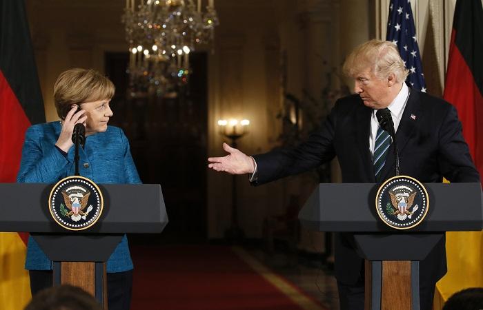 Трамп выставил Меркель счет на $375 млрд