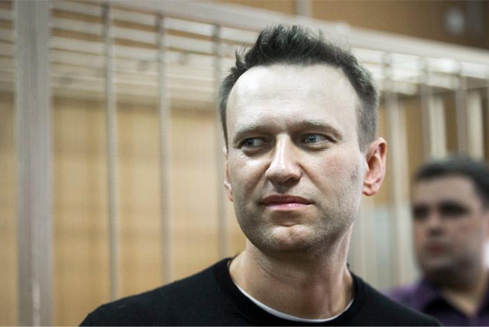 Навального арестовали на 15 суток