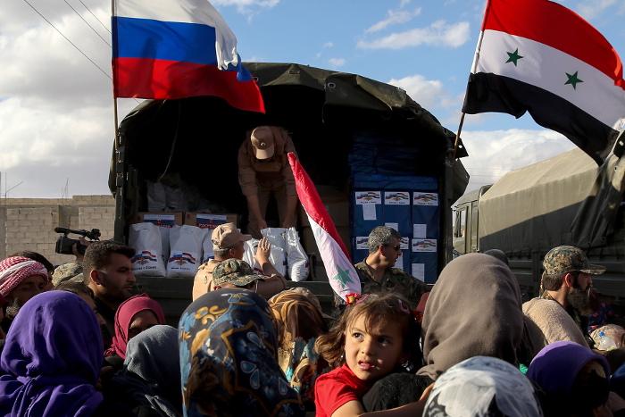 Более 1,8 тыс. жителей Сирии получили российскую гуманитарную помощь