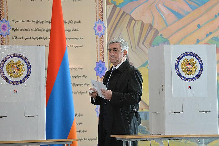 Республиканская партия Армении объявила о победе на выборах