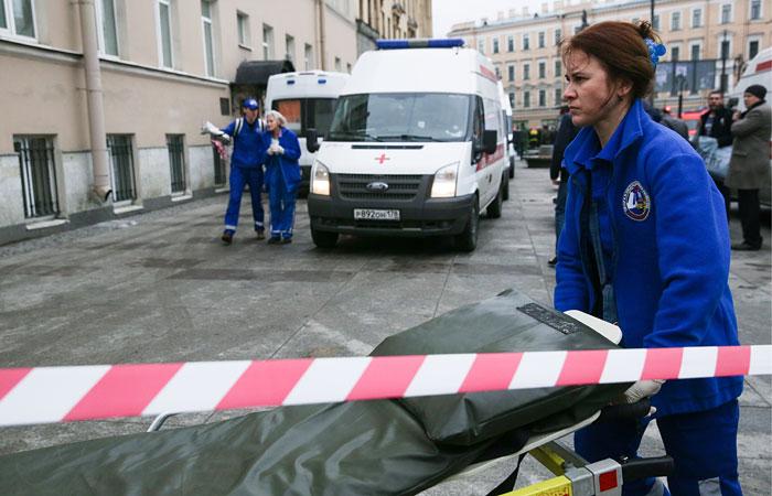 В итоге взрыва вметро Петербурга погибли девять человек— НАК уточняет