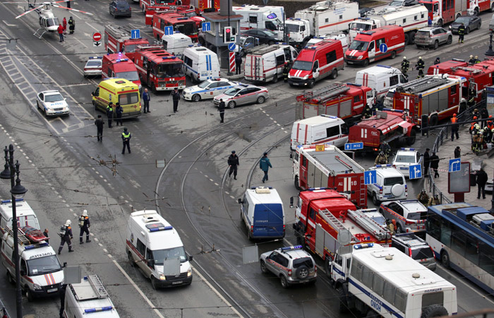 Террориста, устроившего взрыв впетербургском метро, засняли камеры видеонаблюдения