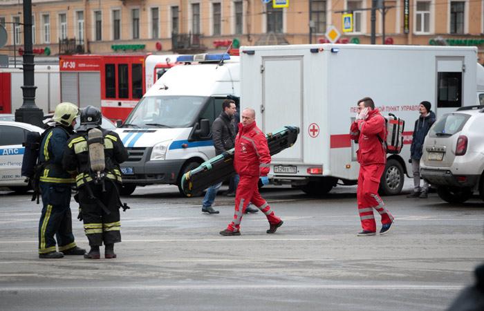 ВПетербурге закрыта станция метро «Сенная площадь» из-за угрозы взрыва
