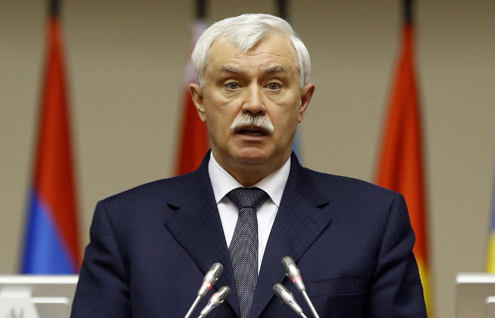 Траур вПетербурге: Полтавченко выступил свидеообращением