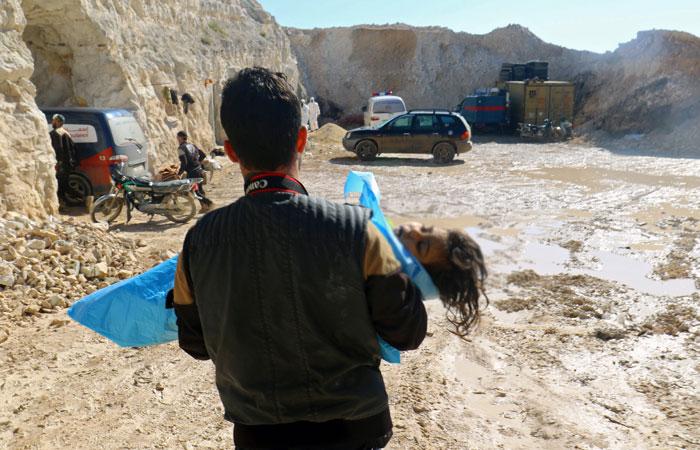 СБ ООН соберется на заседание после предполагаемой химатаки в Сирии