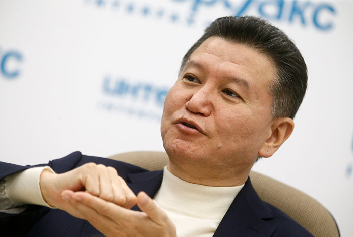 Илюмжинов объявил овозвращении кполномасштабному руководству ФИДЕ
