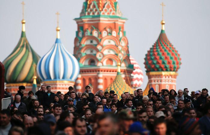 В полиции сообщили о более 50 тыс. участников акции памяти в центре Москвы