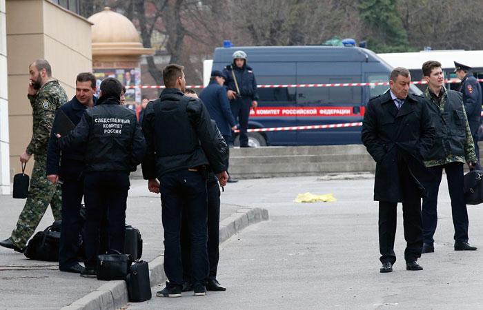 В результате взрыва в Ростове-на-Дону пострадал один человек